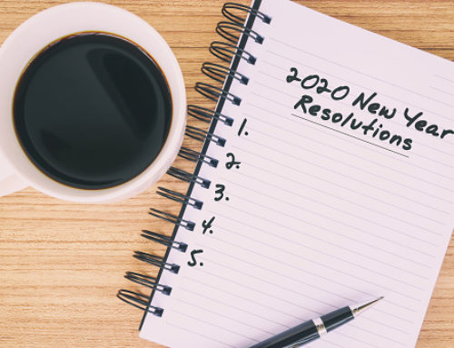 New Year's resolutions to get organized